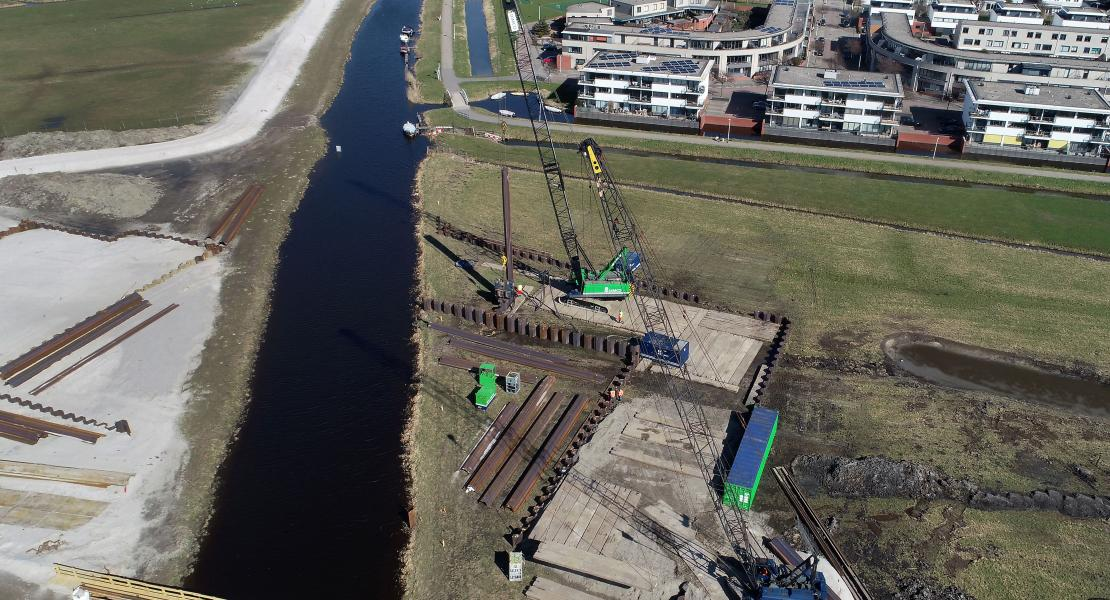 Overview of RijnlandRoute project, Dredging